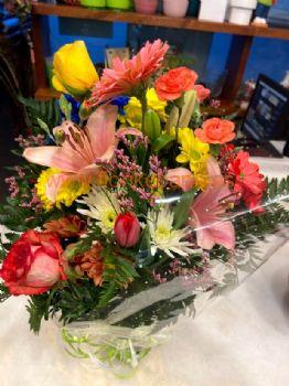 Ramo lilium, rosas